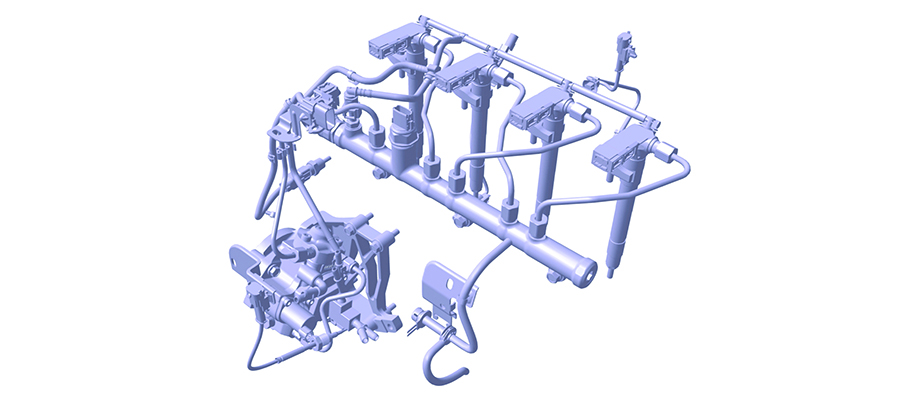 Hệ thống kim phun Common Rail