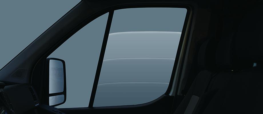 Kính cửa cabin Điều khiển tự động 2 chế độ (auto-manual).