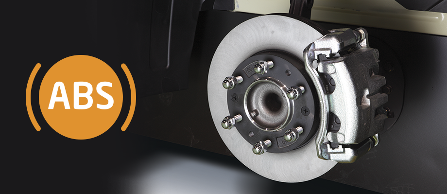 Hệ thống phanh đĩa và ABS  Hyundai Solati được trang bị phanh có ABS, tất cả 4 bánh xe đều có thắng đĩa với đường kính đĩa lớn (10 in) mang lại hiệu suất phanh cao.