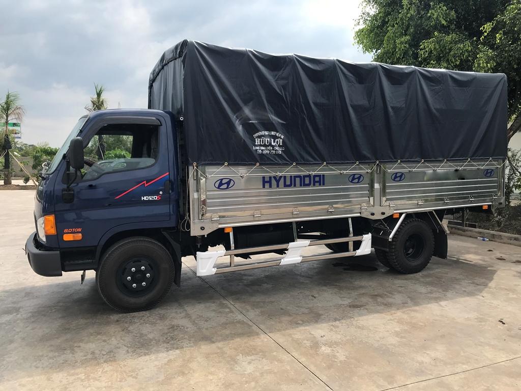Hyundai-HD120Sl-8-tan Thông số kĩ thuật chi tiết xe tải Hyundai HD120SL 8,2 tấn 6,4 mét thùng mui bạt, thùng kín, thùng lững  | Hyundai Phú Lâm