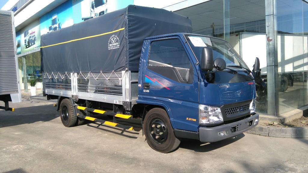 xe-tai-iz49-thung-nhom Xe tải Hyundai: Xe tải Đô Thành IZ49 2,5 tấn | Hyundai Bình Chánh