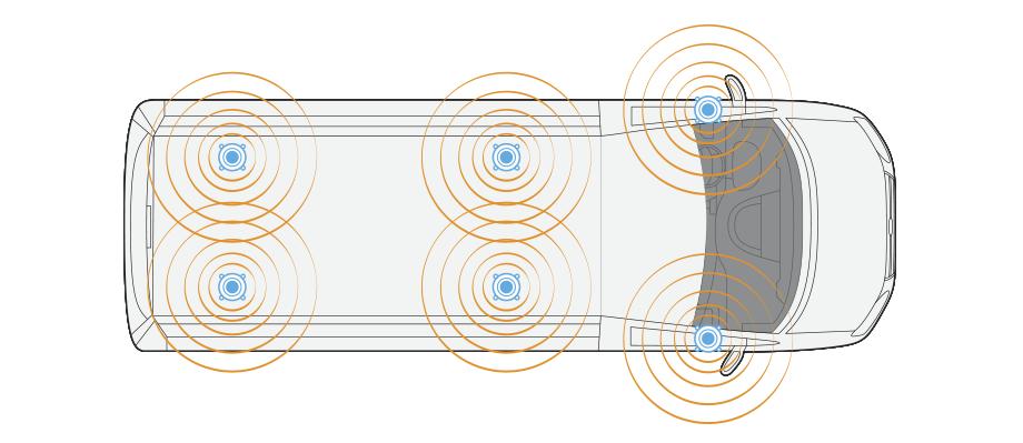 Hệ thống âm thanh : Trang bị 6 loa cao cấp, âm thanh nổi 3D.