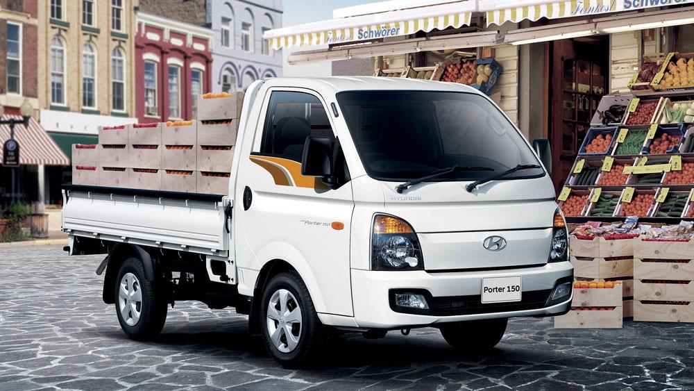 hyundai-porter-150-4 Xe tải nhẹ Hyundai New Poter H150 1,5 tấn ngôi sao dòng tải nhẹ tiêu chuẩn Euro4 đầu tiên Việt Nam | Hyundai Phú Lâm