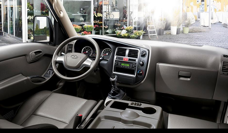 noi-that-h150 Xe tải nhẹ Hyundai New Poter H150 1,5 tấn ngôi sao dòng tải nhẹ tiêu chuẩn Euro4 đầu tiên Việt Nam | Hyundai Phú Lâm