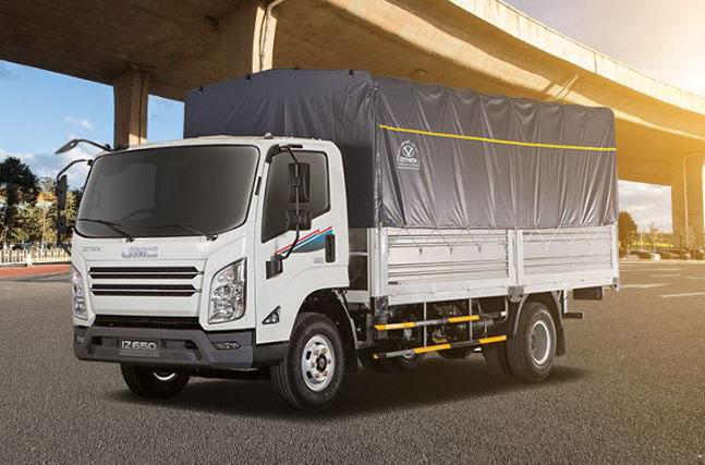 do-thanh-iz650-01 Dothanh IZ650 SE 6,5 tấn - Tân binh xe tải sang như xe con   Hyundai Phú Lâm
